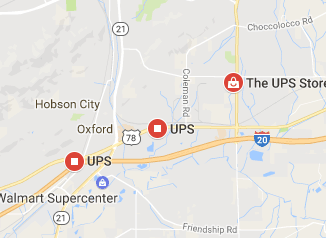 Ups Oxford Al Phone Number Tracking Package