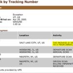 UPS SurePost Tracking Not Updating
