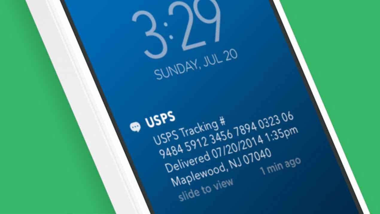 USPS Tracking Number 9505