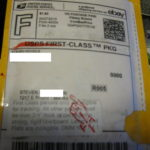 USPS First Class Package Tracking Number