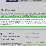 USPS Hold Mail Service Online: Handy Service When You Are Away