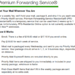 USPS Premium Mail Forwarding The Cost Factor