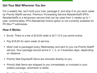 USPS Premium Mail Forwarding: The Cost Factor