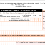 USPS Change Of Address During Delivery Process