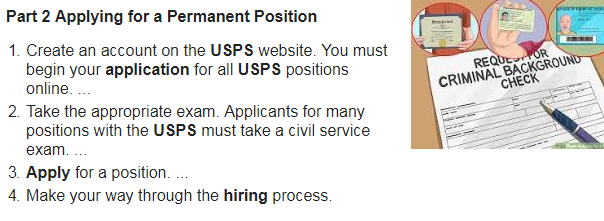 How To Apply for a USPS Job OnlineSelection